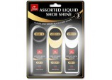 Assorted Liquid Shoe Shine - 3 Pack