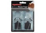 2 Metal Mouse Traps
