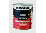 10 Year Weatherproof Wood Paint Gloss 750ml - Royal Red