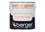Non Drip Gloss 2.5L - Pure Brilliant White