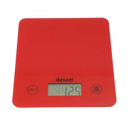 Digital Kitchen Scales - Red – Now Only £10.00
