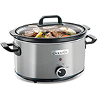 3.5L Brushed Stainless Steel Slow Cooker – Now Only £30.00