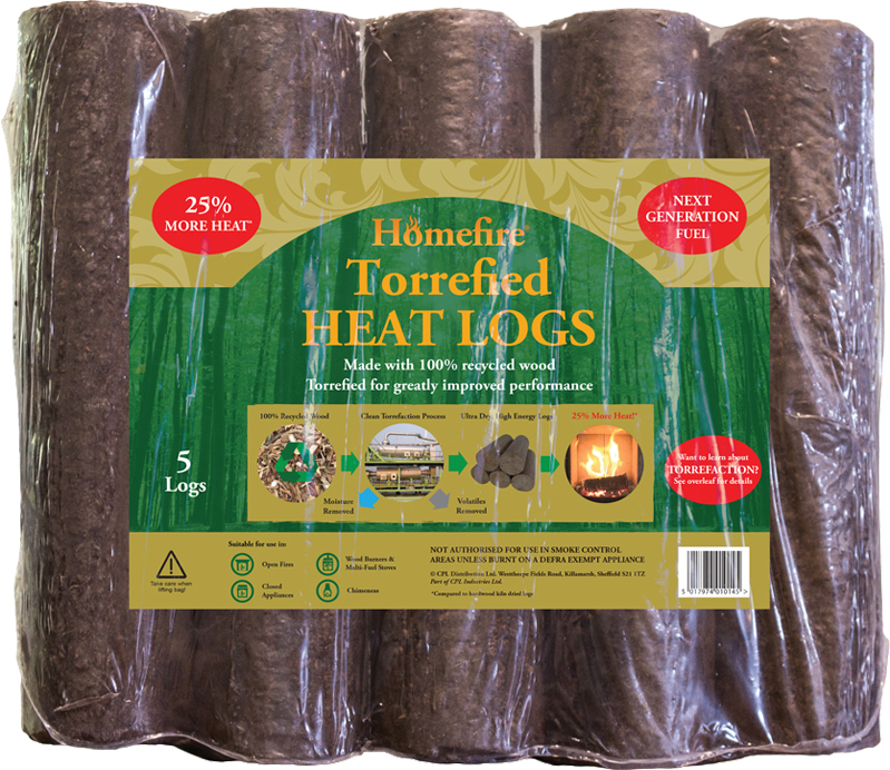 Torrefied Heat Logs  – Now Only £6.00