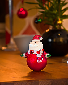 Santa with Warm white LEDs Sensor and Timer 2 minutes -  – Now Only £5.00