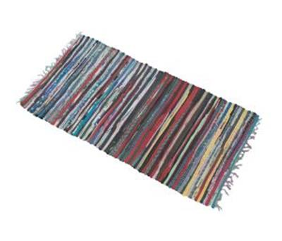 Multi Cotton Rug 65 x 125 – Now Only £5.00