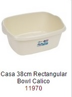Casa 38cm Rectangular Bowl  -  – Now Only £2.00