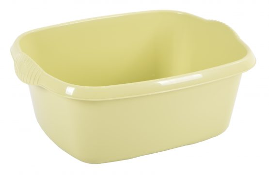 Casa 38cm Rectangular Bowl  - Soft Lime – Now Only £2.00