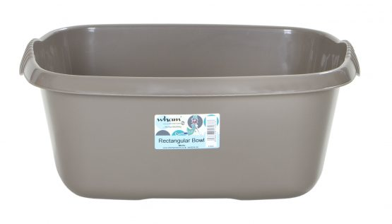 Casa 38cm Rectangular Bowl  - Mocha – Now Only £2.00
