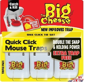 Quick Click Mouse Trap - 3 pack – Now Only £4.00