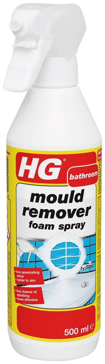 New Mould Remover Foam Spray 500ml – Now Only £6.00