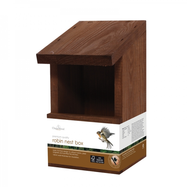 Robin Nest Box - Classic – Now Only £4.00