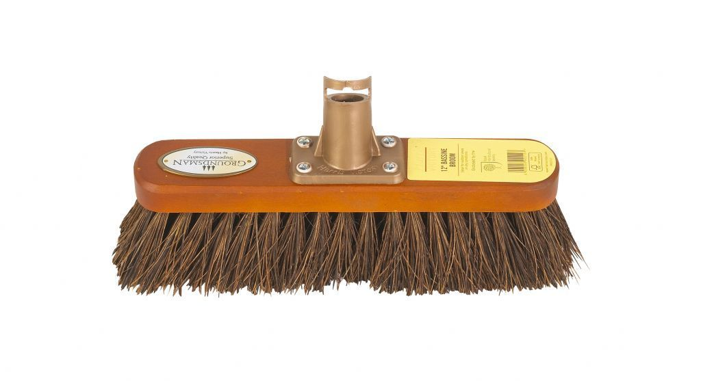 "12"" Groundsman Bassine Broom Head  – Now Only £4.00"