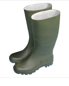 Essentials Full Length Wellington Boots  - Size 12 Euro 46 – Now Only £10.00