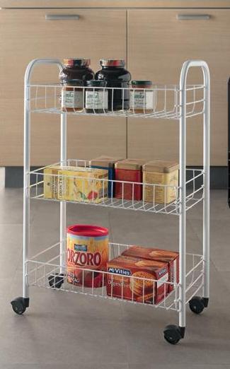 Siena 3 Tier Storage Cart – Now Only £12.00