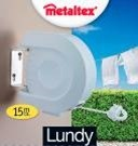 Lundy Wall Mountable Retractable Line Airer 15 Metre – Now Only £8.00
