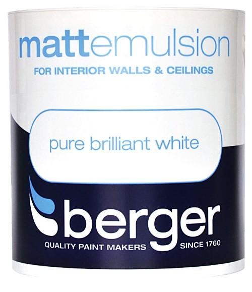 1L Vinyl Matt Emulsion Pure Brilliant White – Now Only £7.00