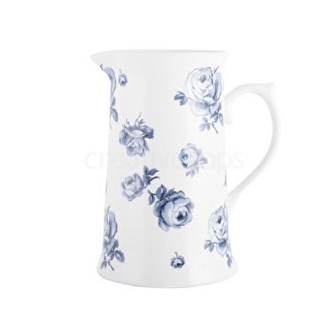Vintage Indigo Large Floral Jug – Now Only £15.00