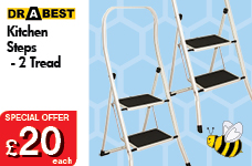 Kitchen Steps - 2 Tread – Now Only £20.00
