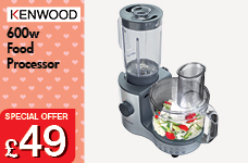 Food Processor 600w – Now Only £49.00