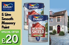 Smooth Masonry Paint 5L  -  – Now Only £20.00
