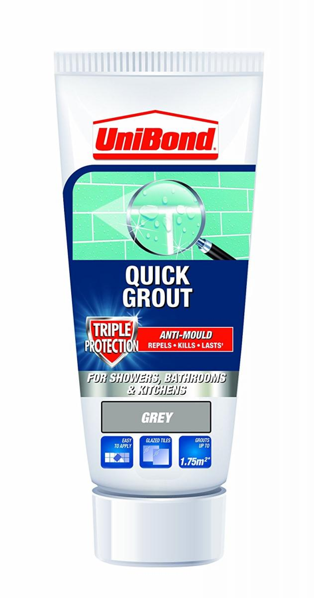 Quick Grout Triple Protect Tube - Grey – Now Only £5.00