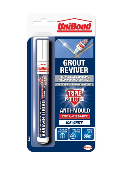 Grout Reviver Pen 7ml - Ice White – Now Only £5.00