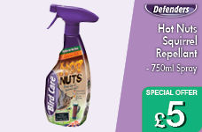 Hot Nuts Squirrel Repellant - 750ml Spray – Now Only £5.00
