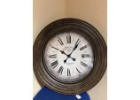 Bewleys Wooden Clock
