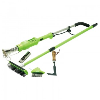 Weed Burner and Paving Brush Kit