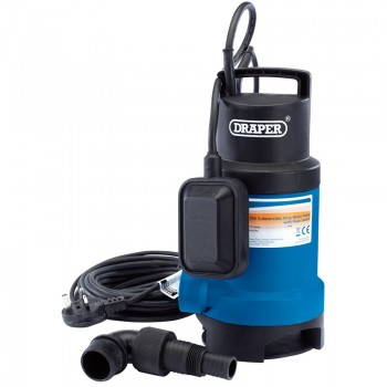166L/Min Submersible Dirty Water Pump with Float Switch (550W)