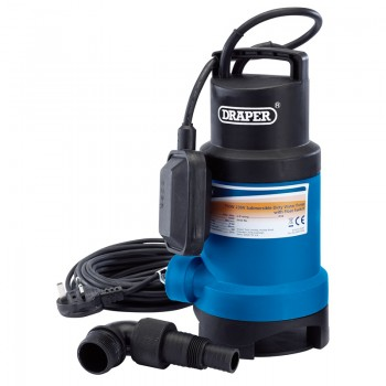 200L/Min Submersible Dirty Water Pump with Float Switch (750W)