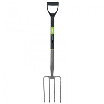 Extra Long Carbon Steel Garden Fork