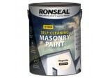 Self Cleaning Smooth Masonry Paint - 5L Magnolia