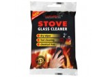 Stove Glass Cleaner Steel Wool - Pack 2