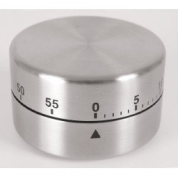 Stainless Steel 60 Minute Timer