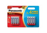 Pro Power AA Batteries - 4 Plus 4 Free