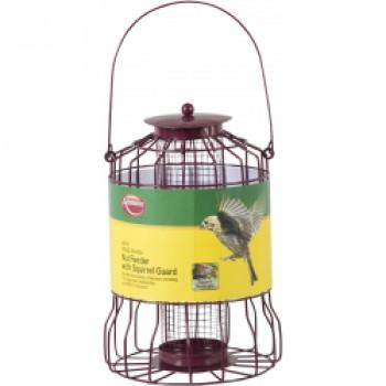 Wild Birds Nut Feeder - With Squirrel Guard