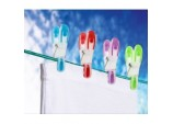 Soft Grip Plastic Clothes Pegs - Pack 20