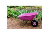 Boxed Wheelbarrow 85L - Pink