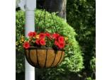 Flat Bar Hanging Basket - 16