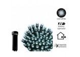 7.1m LED Outdoor Durawise Twinkle Lights - Warm White With Black Cable