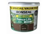 One Coat Fence Life 12L - Tudor Black Oak