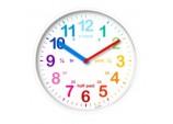 Wickford Kids Time Teach Clock 20cm - White