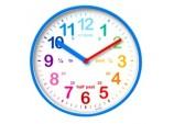 Wickford Kids Time Teach Clock 20cm - Blue