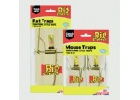 Wooden Mouse Trap - 4 Pack