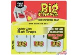Quick Click Rat Traps - 3 Pack