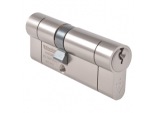 British Standard 1* Euro Cylinder Satin Nickel - 40 x 40mm