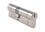 British Standard 1* Euro Cylinder Satin Nickel - 45 x 45mm