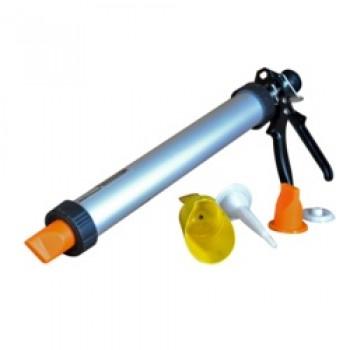 Prof Brick Mortar Gun Set – Clam Shell - Tube: 380mm/15''/capacity:(1L)