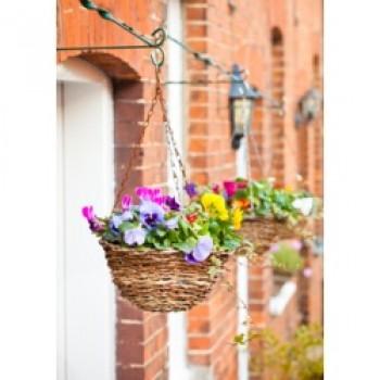 Rattan Hanging Basket - 12